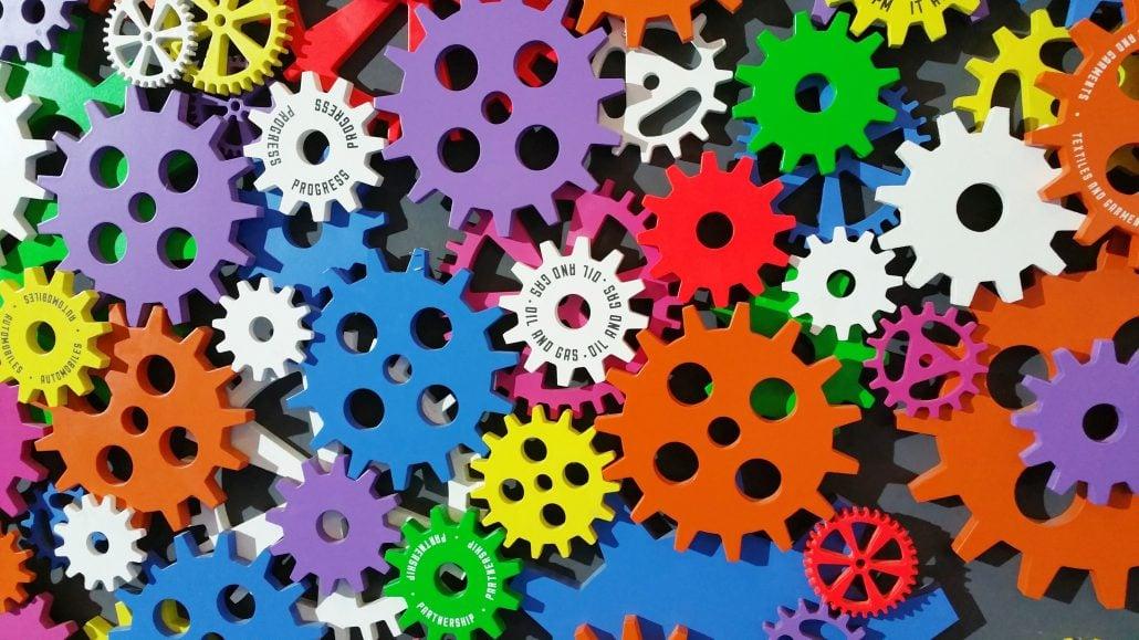 Maschinelles Lernen ist, wenn jedes Teilchen ineinander übergreift.